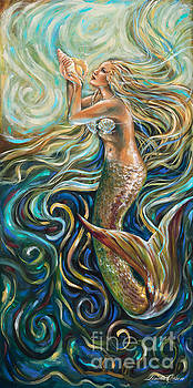 Treasure Mermaid by Linda Olsen