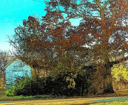 Tree at the Station by Joyce Kimble Smith