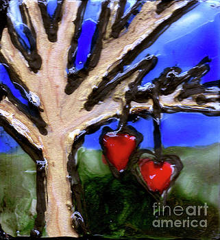Tree Hearts by Genevieve Esson
