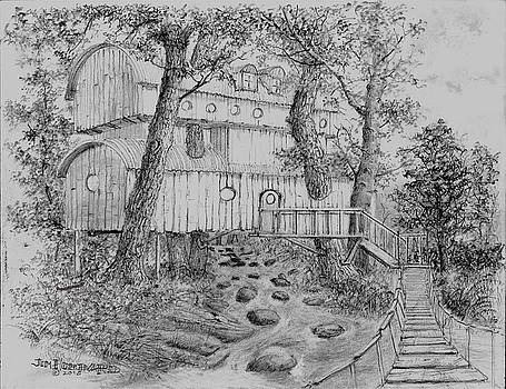 Tree House #5 by Jim Hubbard