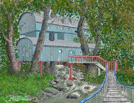 Tree House digital version by Jim Hubbard