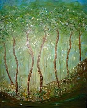 Tree Hugging by Sara Credito