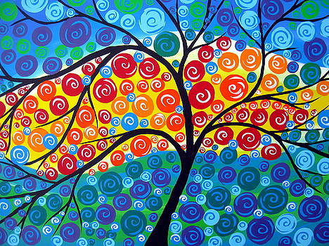 Tree of Life 8 by Cathy Jacobs