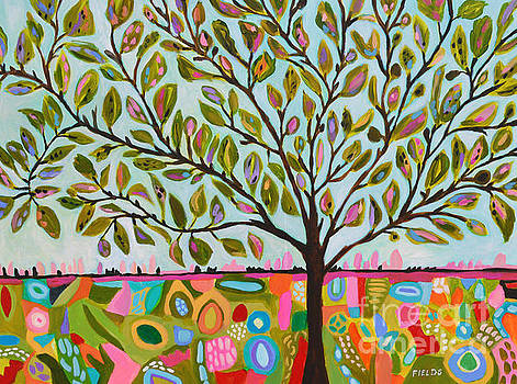 Tree of Life Abstract by Karen Fields