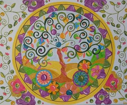 Tree of life by Jilly Curtis