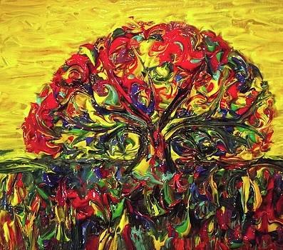 Tree of Life by Paula  Heffel