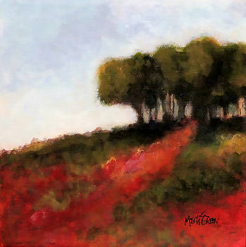 Trees on the Hill by Marti Green