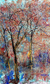 Trees in Spring by Beth Sebring