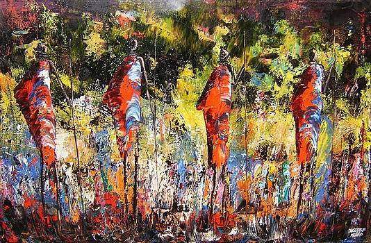 Treking The Jungle by Joseph Muchina