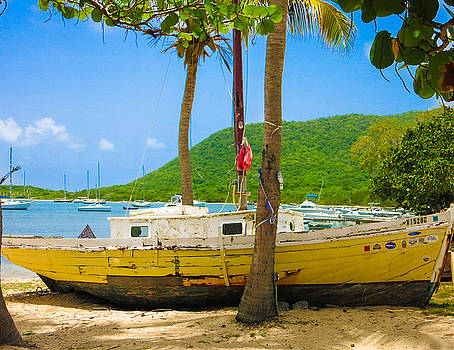 Trellis Bay Sailboat by Ed Selby