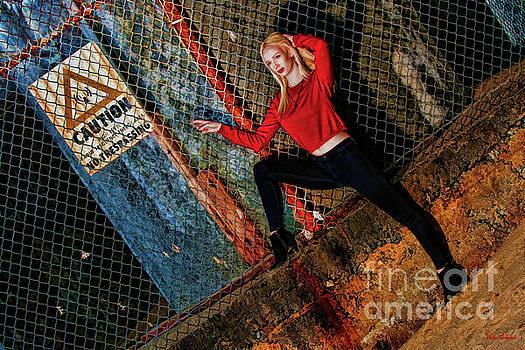 Trespassing Annika Helmer by Blake Richards