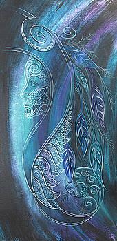 Tribal Goddess Ono by Reina Cottier
