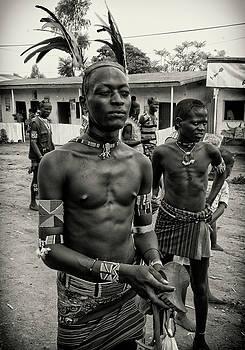 Tribal Man in Key Afar market by Nichon Thorstrom