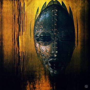 Tribal mask by Gun Legler