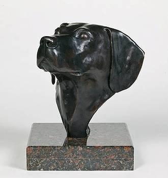 Tribute - Labrador Retriever Portrait by Leonard Jagoda