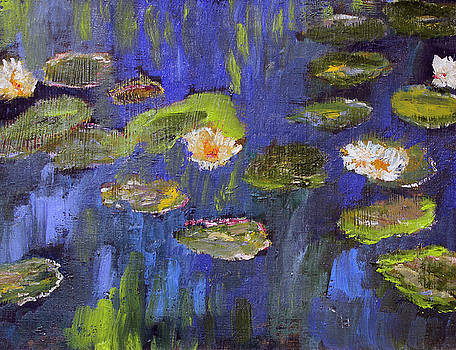Tribute to Monet by Michael Helfen
