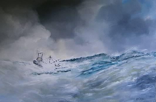 Tribute to Trawlermen by Andy Davis