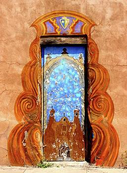 Trinity Door in Santa Fe by Janice Aponte