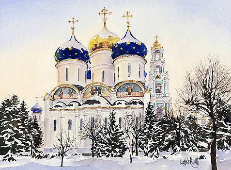 Trinity Lavra of Saint Sergius Sergiyev Posad by Margaret Merry
