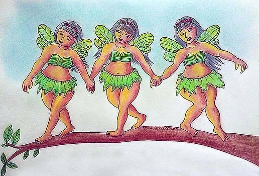 Trio Fairies by Desiree Micaela
