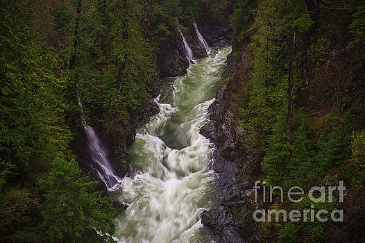 Triple Falls by Carrie Cole