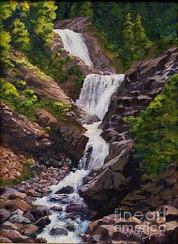 Triple Falls by Jim Krug