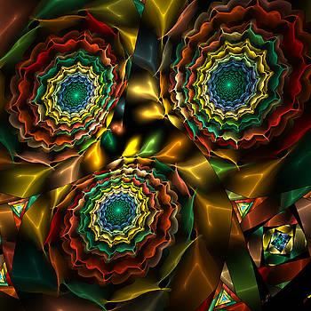 Triple Vortex by Rick Chapman