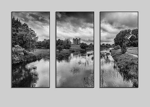 Triptych Trim Castle 2 by Martina Fagan