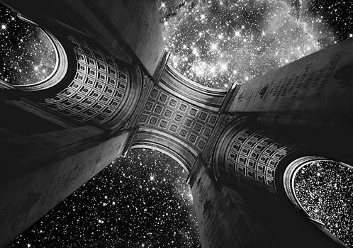 Triumph On A Cosmic Scale III - Arc de Triomphe by Aurelio Zucco