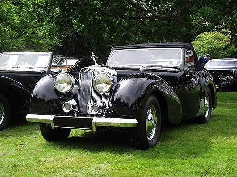 Triumph Roadster   1946-48 Black by Dawn Hay