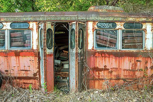 Trolley Car 8483 by Rebecca Skinner