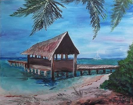 Judy Via-Wolff - Tropical Boathouse