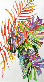 Tropical Fernery 2 by Rae Andrews