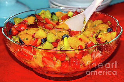 Tropical Fruit Salad by Kaye Menner by Kaye Menner