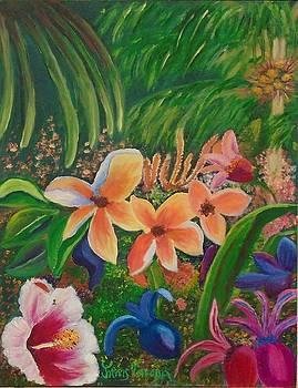 Tropical Garden by Janis Tafoya