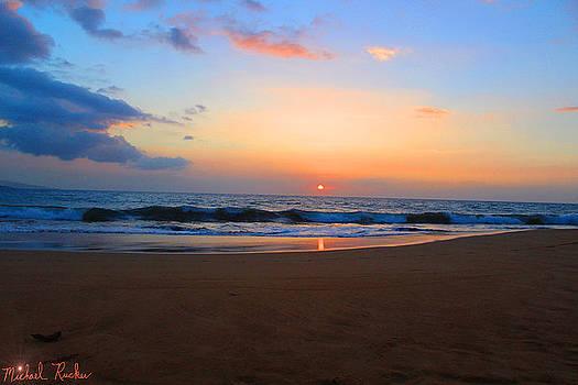 Tropical Hawaiian Beach by Michael Rucker