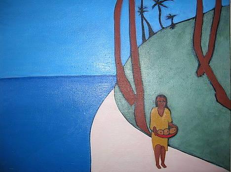 Tropical Morning by Sandra McHugh