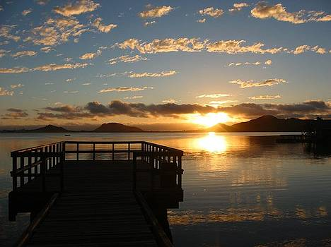 Tropical Sunrise by Halle Treanor