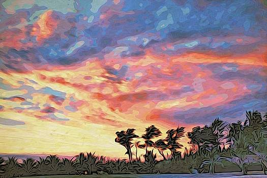 Tropical sunset by Alexandre Ivanov