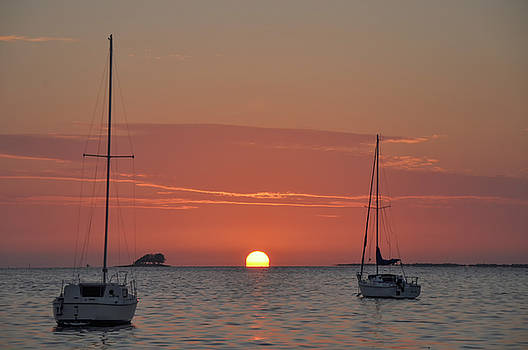 Tropical Sunset - Florida by Bill Cannon