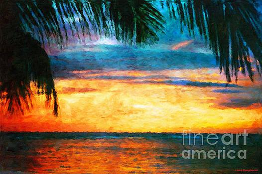 Tropical Sunset by Jerome Stumphauzer