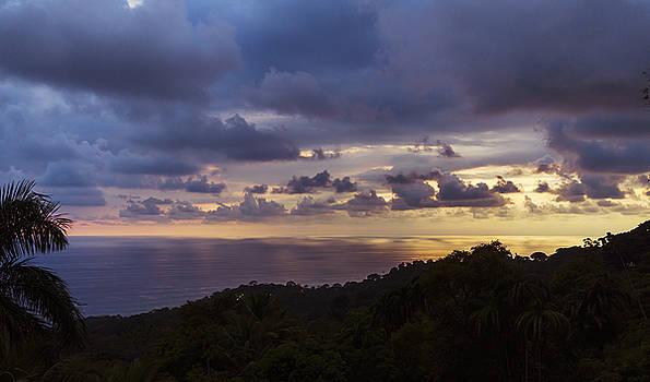 Tropical Sunset by Paul Geilfuss
