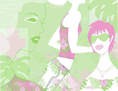 Tropical Women by Lisa Henderling