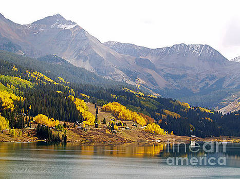 Trout Lake in the San Juan Mountains by Alex Cassels