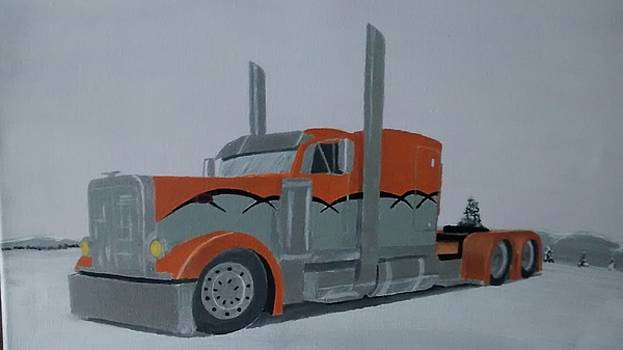Truck Driving by Dominic Whatley