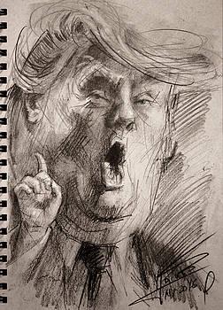 Trump a Dengerous A-Hole by Ylli Haruni