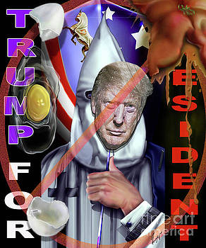 Trump Making America White Again 1 by Reggie Duffie