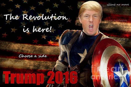 Trump Revolution by Guy  Cannon