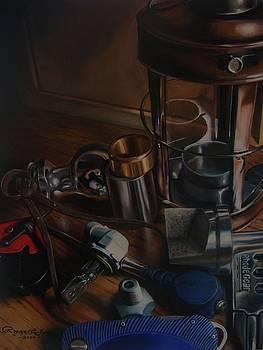 Trumpe'loeil Still Life  by Ryan L  Jones