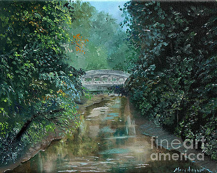 Trunk Line Bridge by Mary Hughes